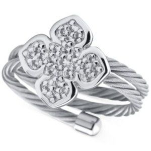 CHARRIOL Sterling Silver expandable Ring
